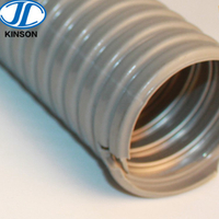 Electric PVC jacketed Flexible Metal Cable Wire Protection Conduit